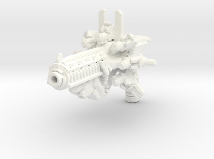 Time Blaster for TLK Hot Rod (more storage) 3d printed