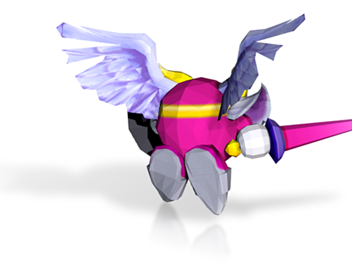Wii - Kirbys Return to Dream Land - Galacta Knight 3d printed