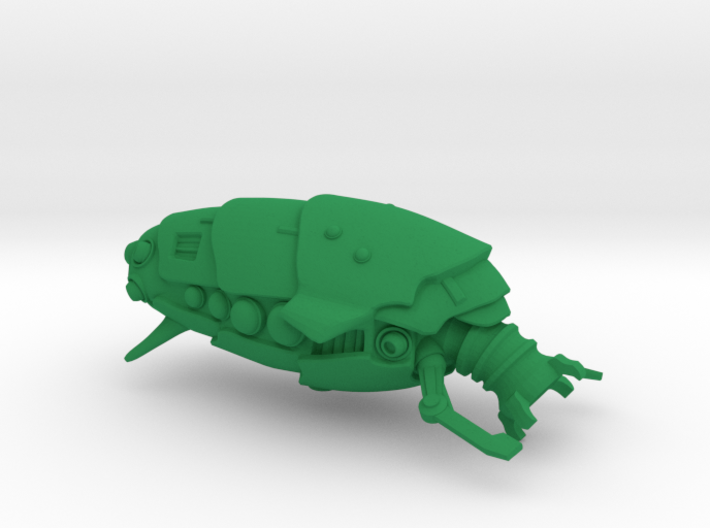 "Space Utility Freighter ""Cudele Lamina"" (Drone) 3d printed"