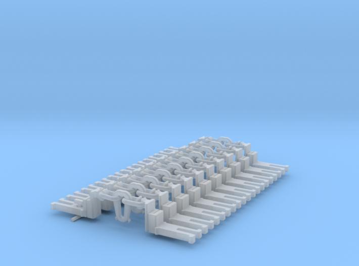 NEM OO Type 29 Couplings - Big-Step Up Inst' x10 3d printed