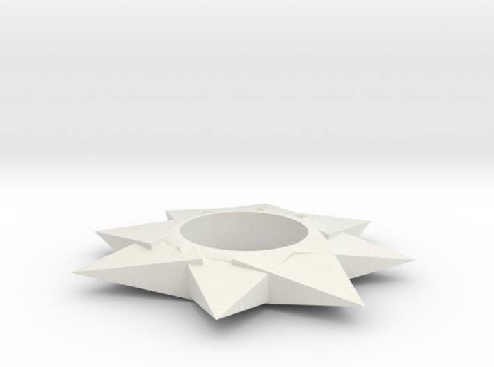 The Star Fidget Spinner 3d printed