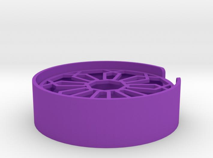Hexagon Soap Dish 3d printed