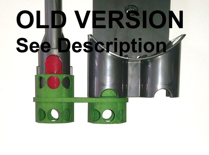 OLD VERSION. Holder - Dyson V8 - Triple Adapter 3d printed