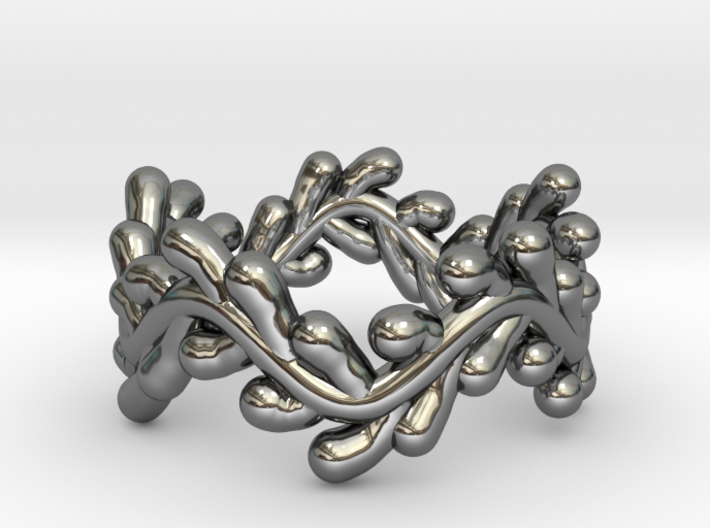 Wreath Ring No.2 - Size 6 3d printed