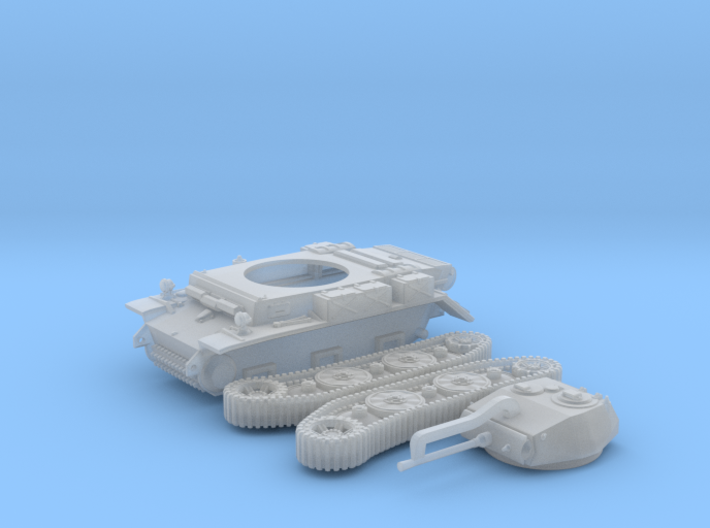PzKpfw II ausf L - LUCHS (1:100) 3d printed