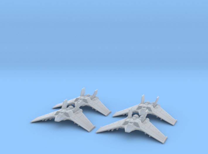 F/A-302c Large Set: 1/700 scale 3d printed