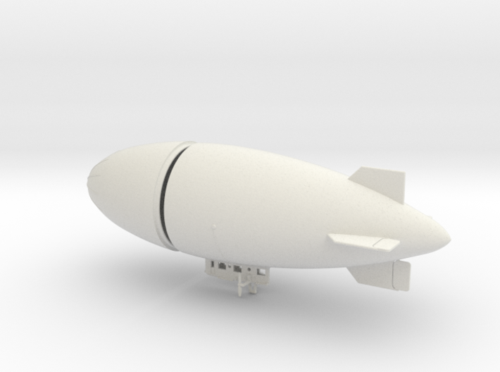 US Army AC-1 Airship 1/350 scale 3d printed
