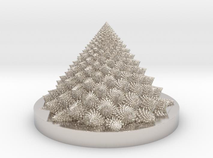 Romanesco fractal Bloom zoetrope (more resolution) 3d printed