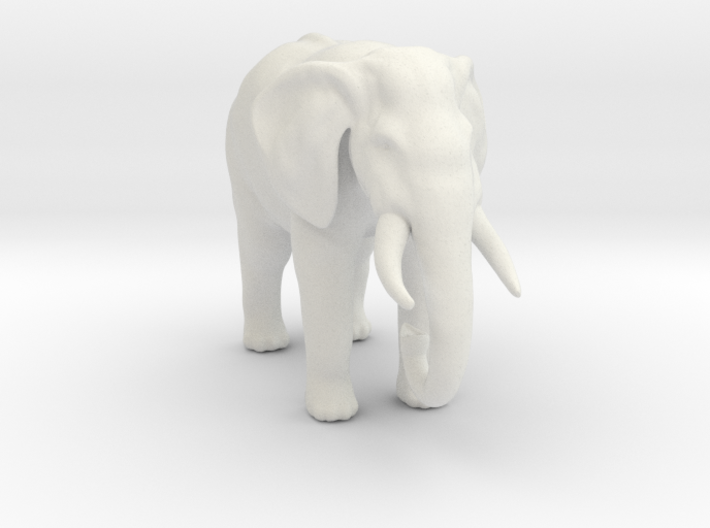 Printle Thing Elephant 1/24 3d printed
