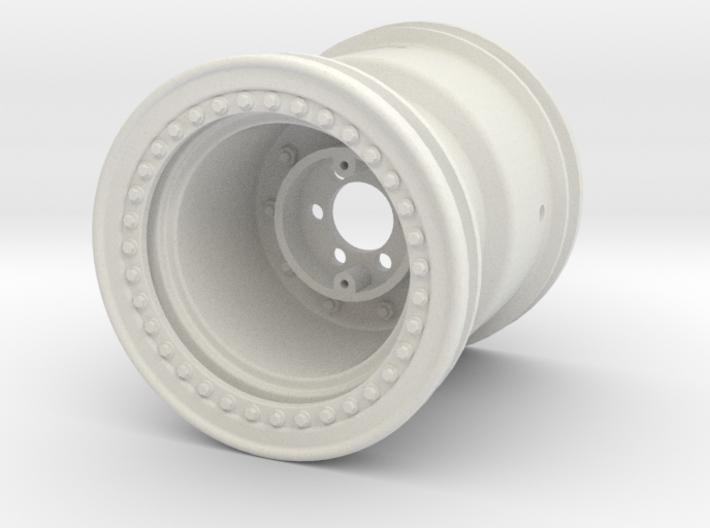 2.2-inch Monster Jam Style Wheel 3d printed