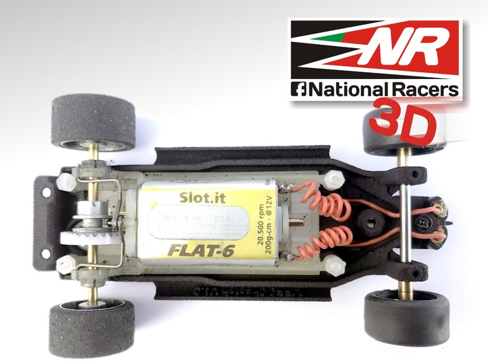 3D Chassis - MRRC Cheetah - Inline 3d printed