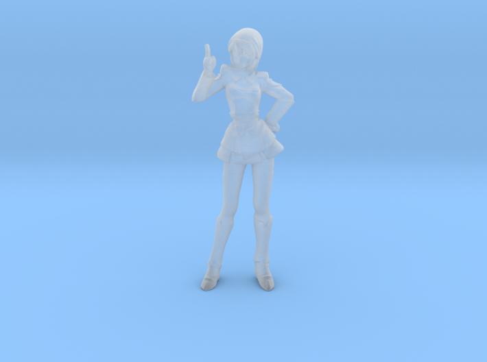 1/144 Mobile Suit Female Pilot Hawke for Dioramas 3d printed