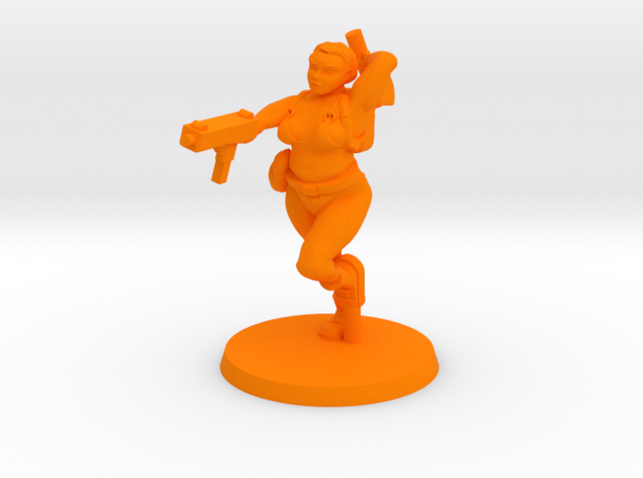 Katie - Zombie Slaying Surfer 3d printed