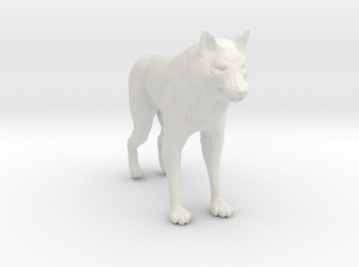 Printle Thing Wolf - 1/24 3d printed
