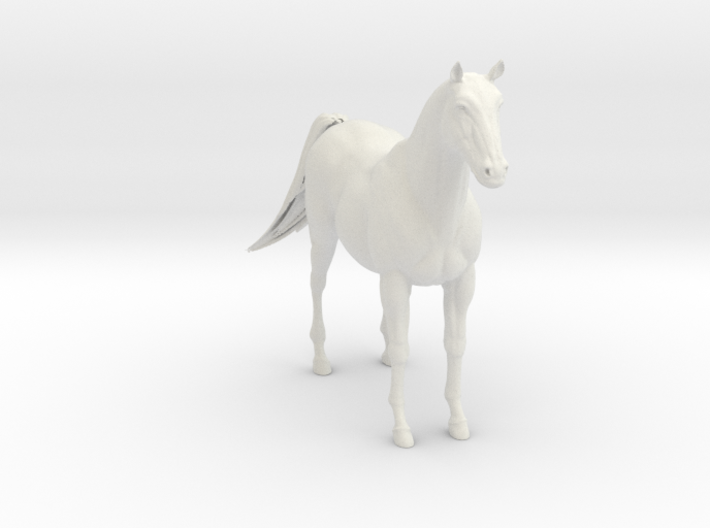 Printle Thing Horse - 1/24 3d printed