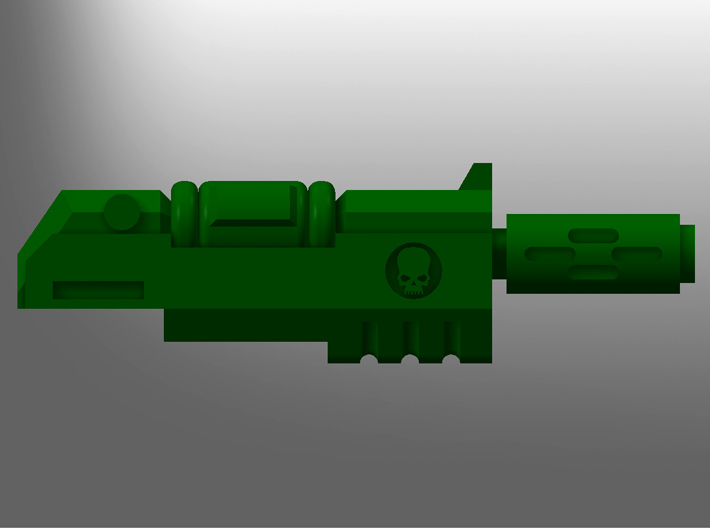 Human-sized Thermal Injectors x5 3d printed
