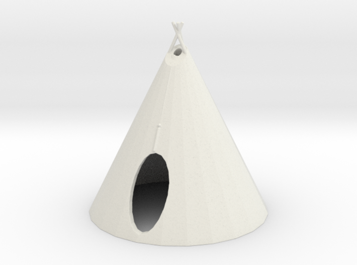 S Scale Teepee2 3d printed this is a render not a picture