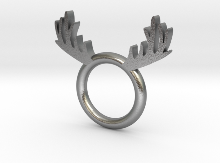 Deer_Ring 3d printed
