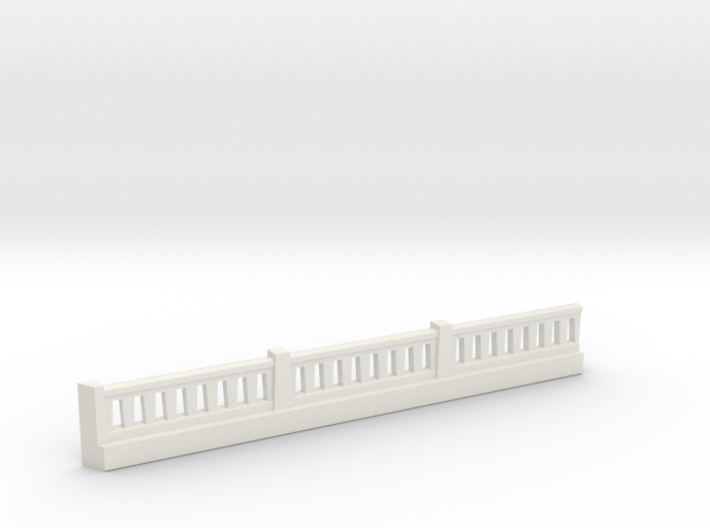 Triple Underpass NE Wing Wall Complex 3d printed