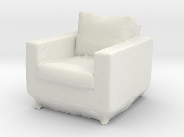 Printle Thing Armchair 02 - 1/24 3d printed