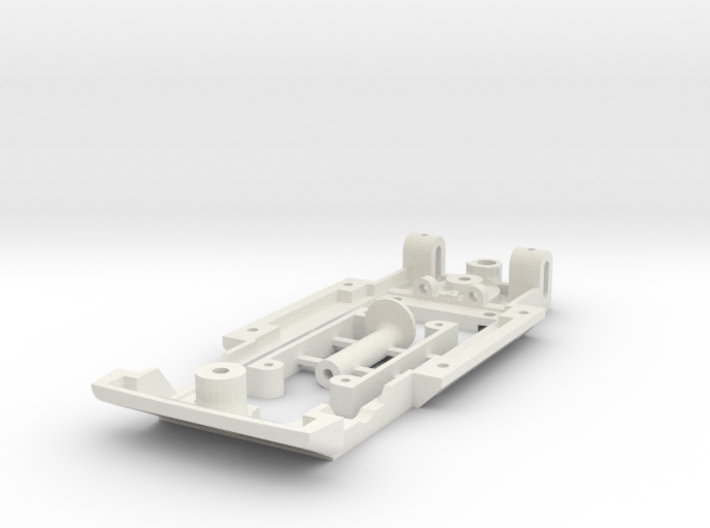 Chassis for SCX Fiat 124 Spider 3d printed