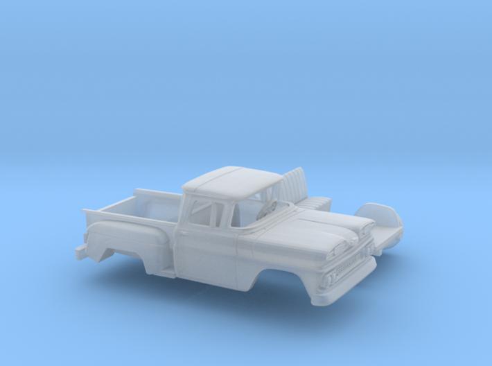 1/87 1961 Chevrolet C-10 Stepside Kit 3d printed