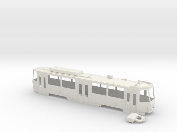 Tatra T6A2M 0 Scale [body] 3d printed 1/48