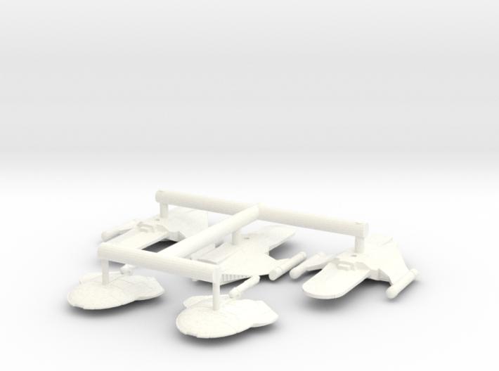 5k Romulan troop fleet 3d printed