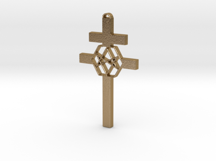 Thelema Cross 3d printed