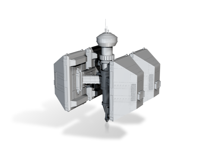 Iron Ore Manufacturing Station 3d printed