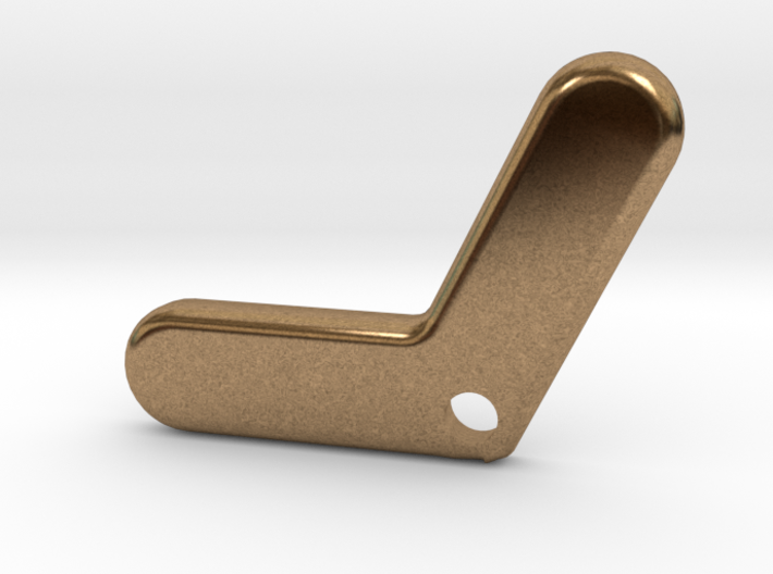 Aussie Solid Boomerang - Pendant for Bracelet or N 3d printed
