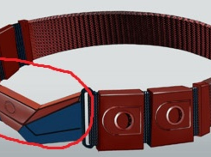 Spider-Man Belt part 1 3d printed