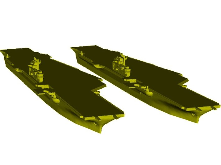 1/1800 scale USS Coral Sea CV-43 aircraft carrier 3d printed