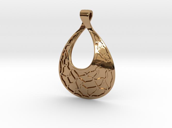 Mosaic Pendant (Debossed) 3d printed