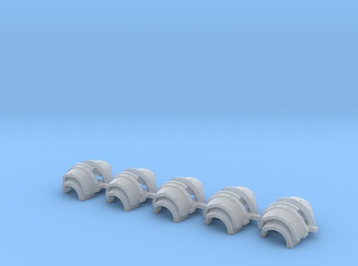 Blank cataphractii Shoulders Left Side - Rebuilt 0 3d printed