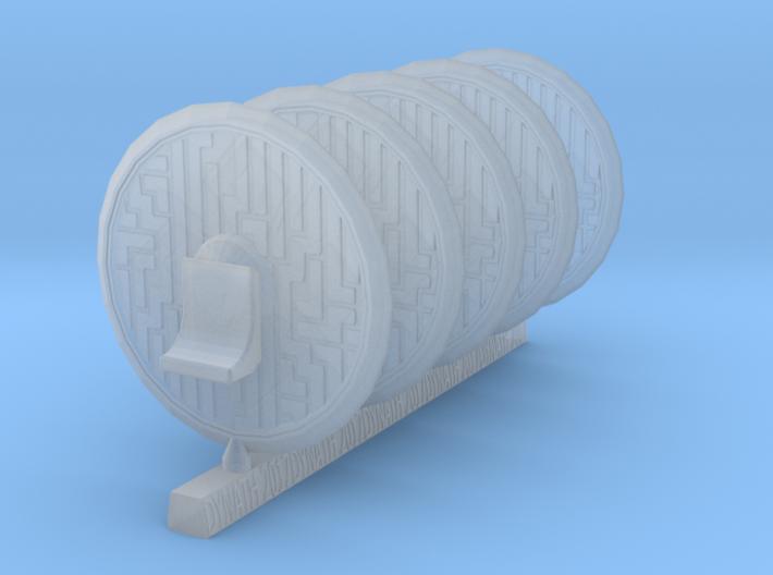 Blank - shield 002a 3d printed