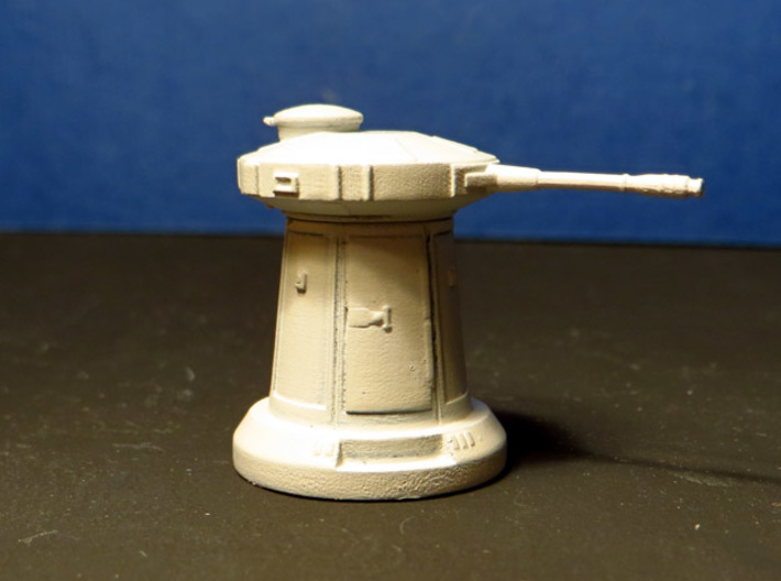 SNOW TURRET 1/109 BANDAY MODEL 008 3d printed