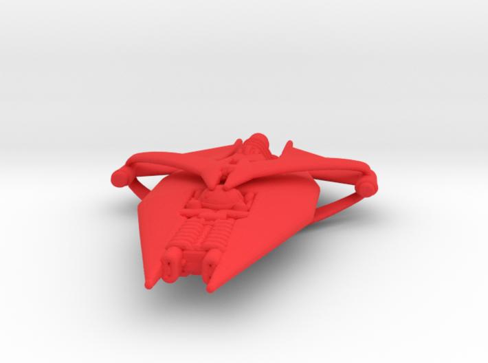 Gquan Heavy Cruiser Full Thrust Scale WSF 3d printed
