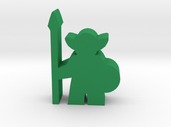 Game Piece, Goblin Guard 3d printed