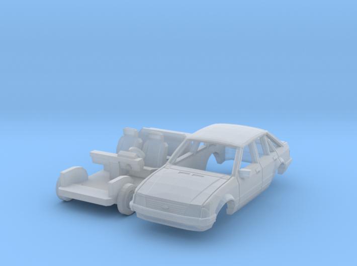 Ford Escort 5-door (N 1:160) 3d printed