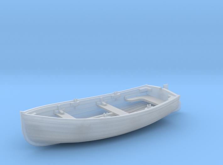 5.5cm Dinghy with Rudder 3d printed 5.5cm Dinghy (Custom Order)