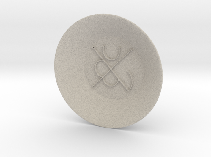 Seal of Mars Charging Bowl (large) 3d printed