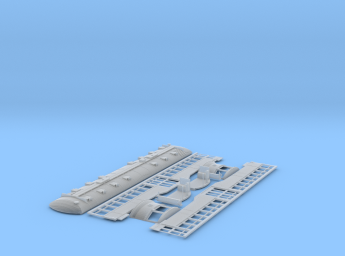 HO Pacific Electric Hollywood or Valley Seven 3d printed