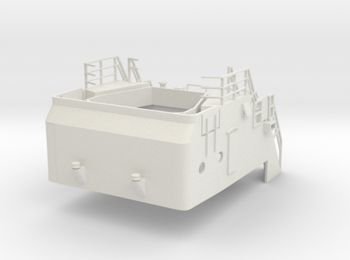 Superstructure 1/50 V60 fits Harbor Tug 3d printed