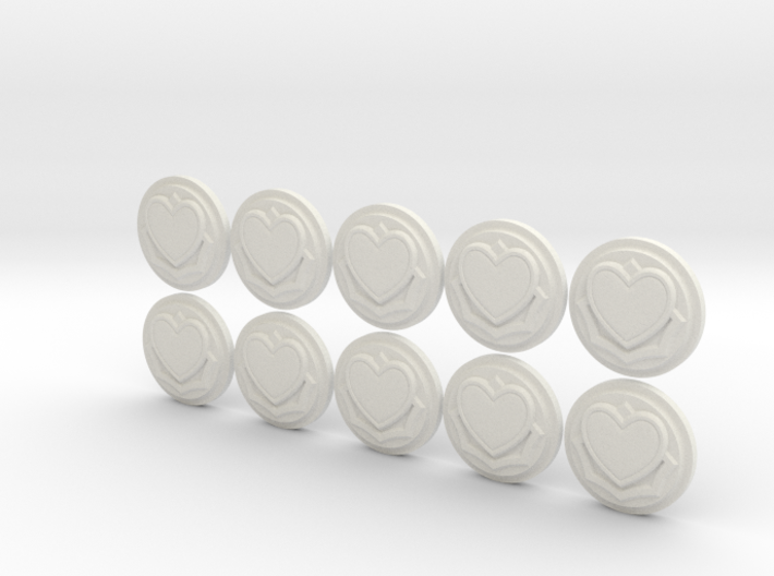 Massive Darkness Stackable Wound Counters 3d printed