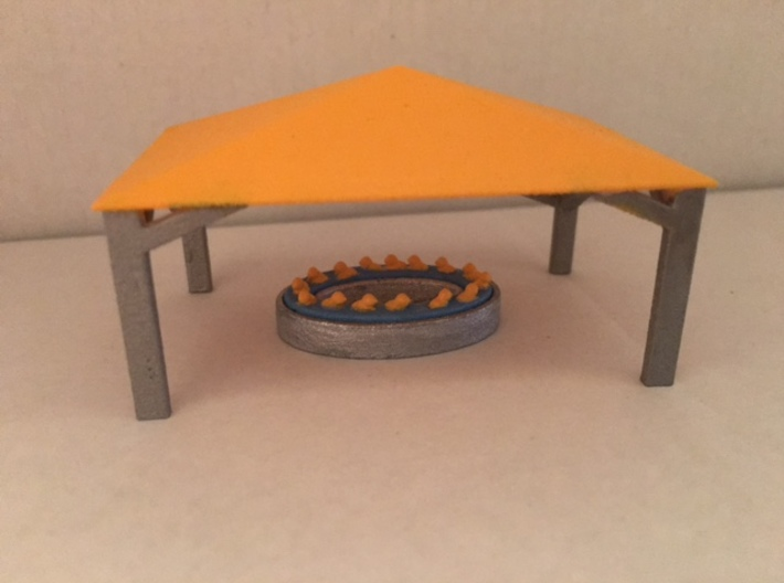 Duckpond 3d printed built and painted by Northeast show