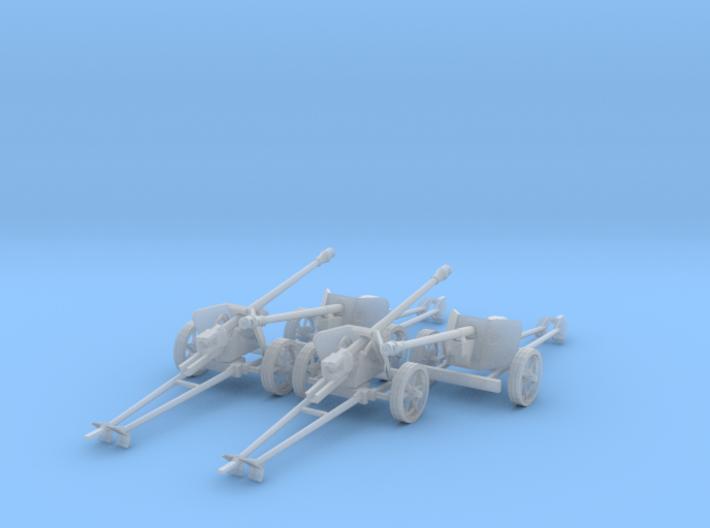1/87 H0-scale Pak40 anti tank gun set of 4 3d printed