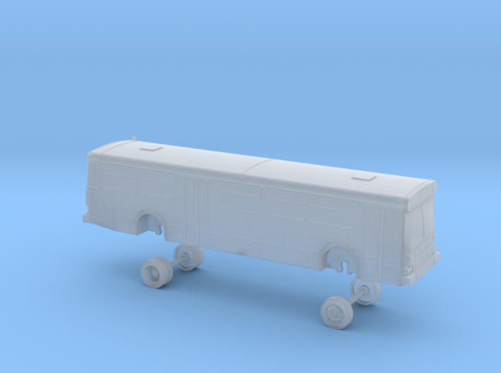 N Scale Bus New Flyer C40 LACMTA 5000s 3d printed