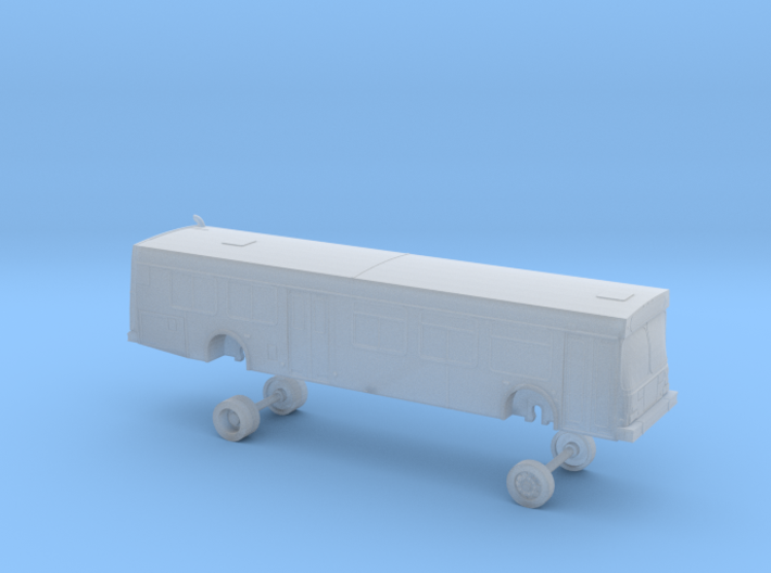 N Scale Bus New Flyer D40LF NCTD 1100s 3d printed