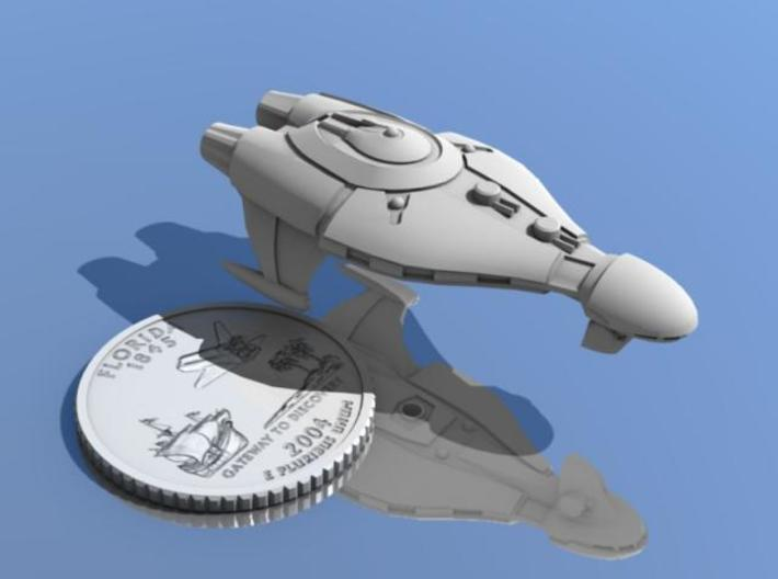 Do Unto Others 3d printed Pact Destroyer Do Unto Others shown with a Florida quarter.